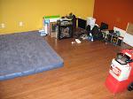 My dining room slash bedroom slash office
