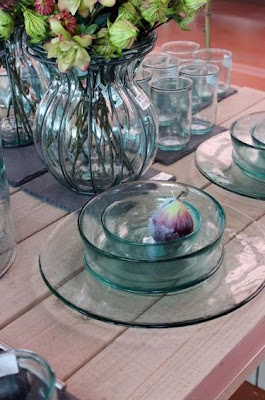 Vasos de cristal.