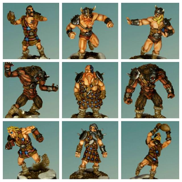 Nórdicos Uscarl Miniatures