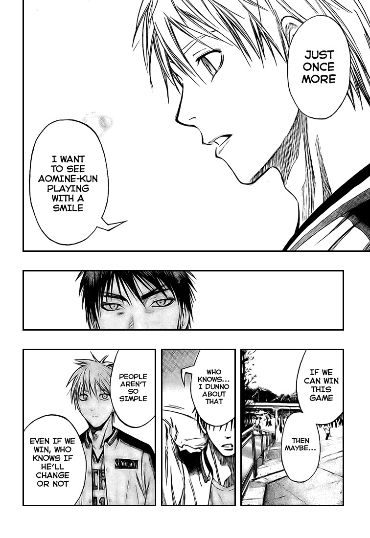 Kuroko no Basket Manga Chapter 124 - Image 16
