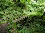 この橋を渡ると滝が..@@@512@@@385