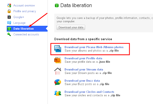 How to Import Photos From Google Plus