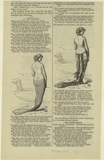 Mermaid by the sea ; woman by the sea