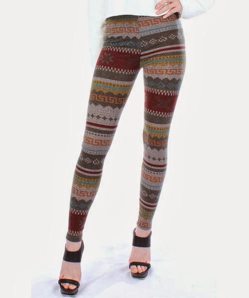 Inspiração: legging estampada - étnica