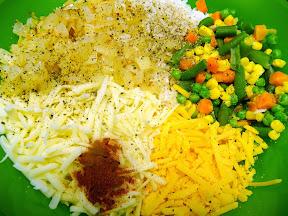 spinach parmesan rice bake vegetables casserole
