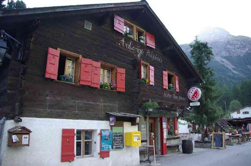 L'auberge Alpina à Zinal