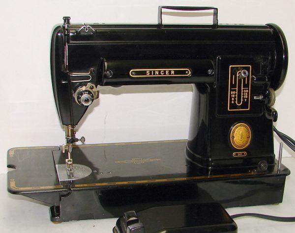 Model 301 Singer Restoration Decals