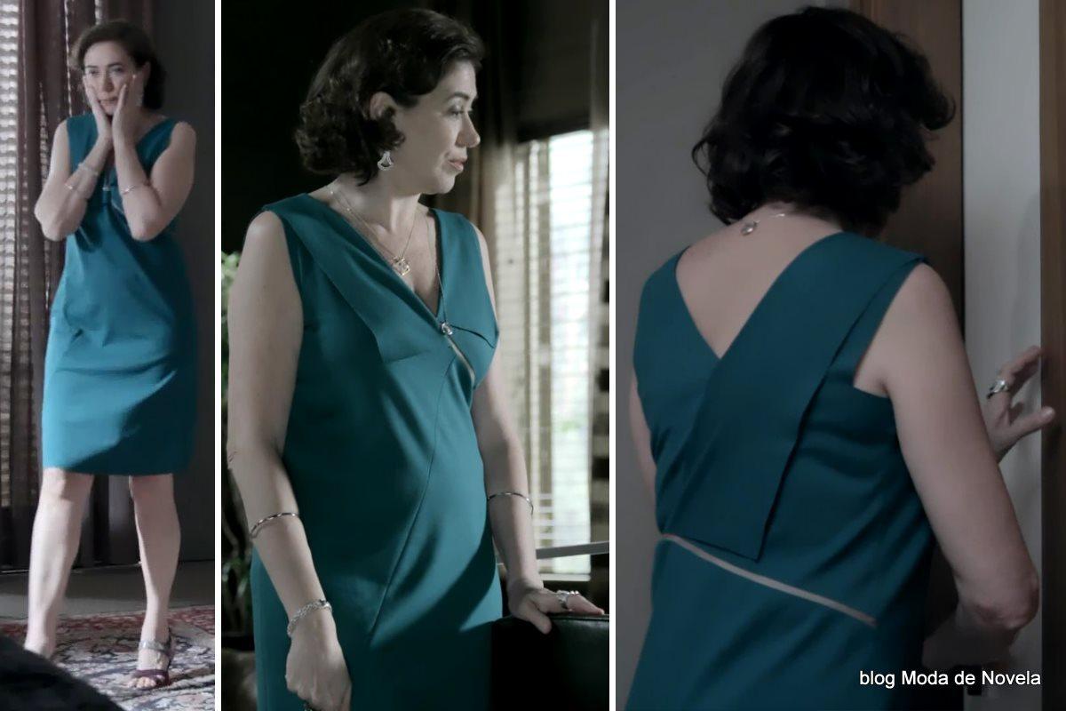 moda da novela Império, look da Maria Marta dia 16 de outubro