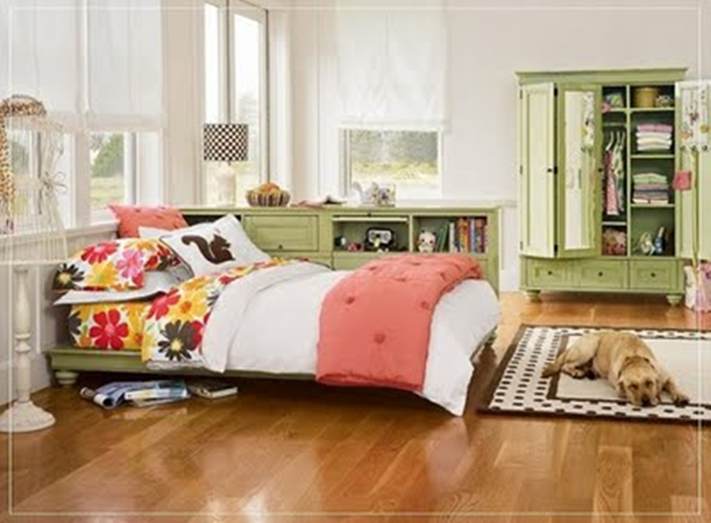 Attractive teen bedroom decorating ideas interior design interior decorating ideas for Teenage bedroom makeover ideas