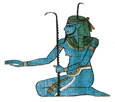 Heh Egyptian Infinity God