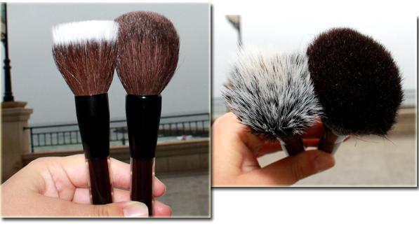 Powder and Finishing brushes