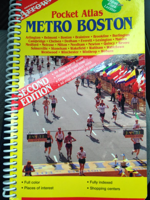 Metro Boston map