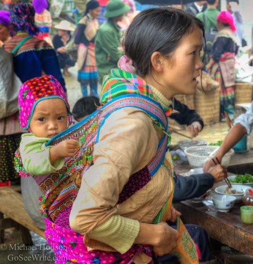 Hmong Northern Vietnam: They remind me very much of Maya in Guatemala