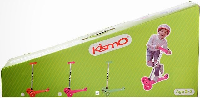 Sản phẩm Xe trượt Kismo Scooter màu xanh lá cây dành cho trẻ em trên 3 tuổi