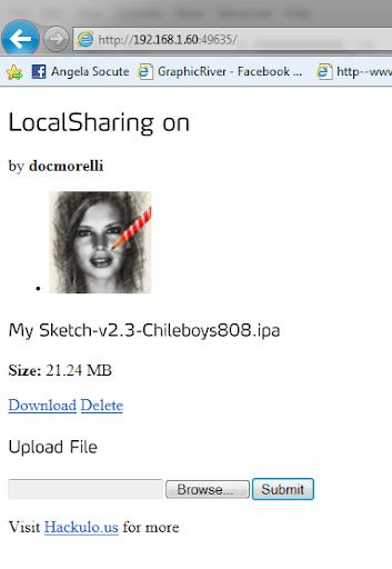 การใช้งาน LocalSharing ใน Installus เพื่อถ่ายโอนไฟล์ IPA Ips-020