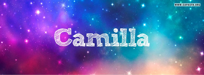 Capas para Facebook Camilla