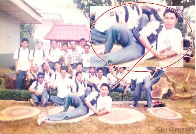 Foto Pribadi Rizal Armada Saat Masih SMA (Jadul)