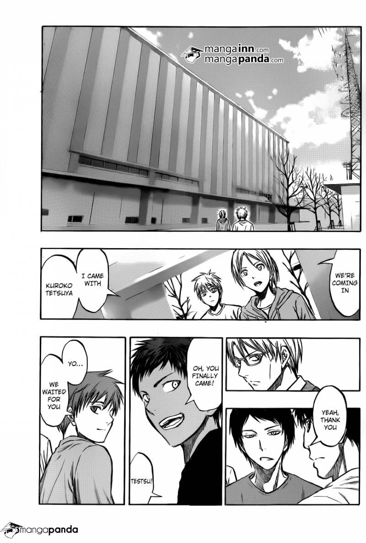 Kuroko no Basket Manga Chapter 207 - Image 11