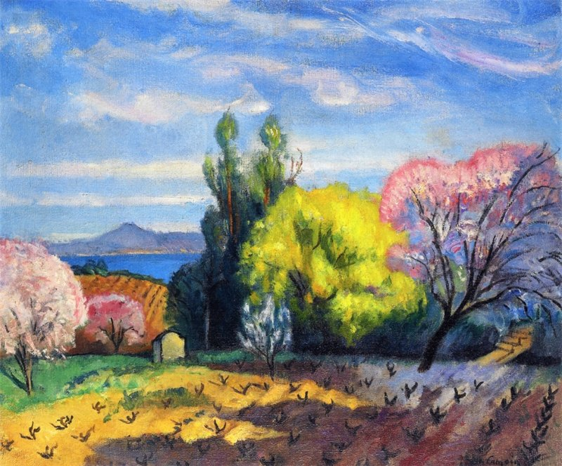 Charles Camoin - Spring in St. Tropez