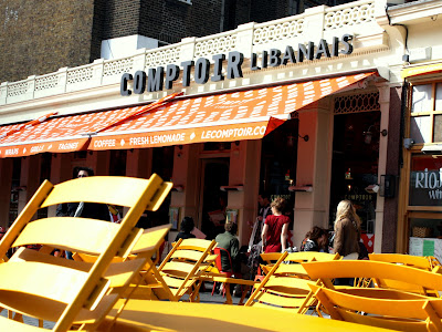 Le Comptoir Libanais in South Kensington