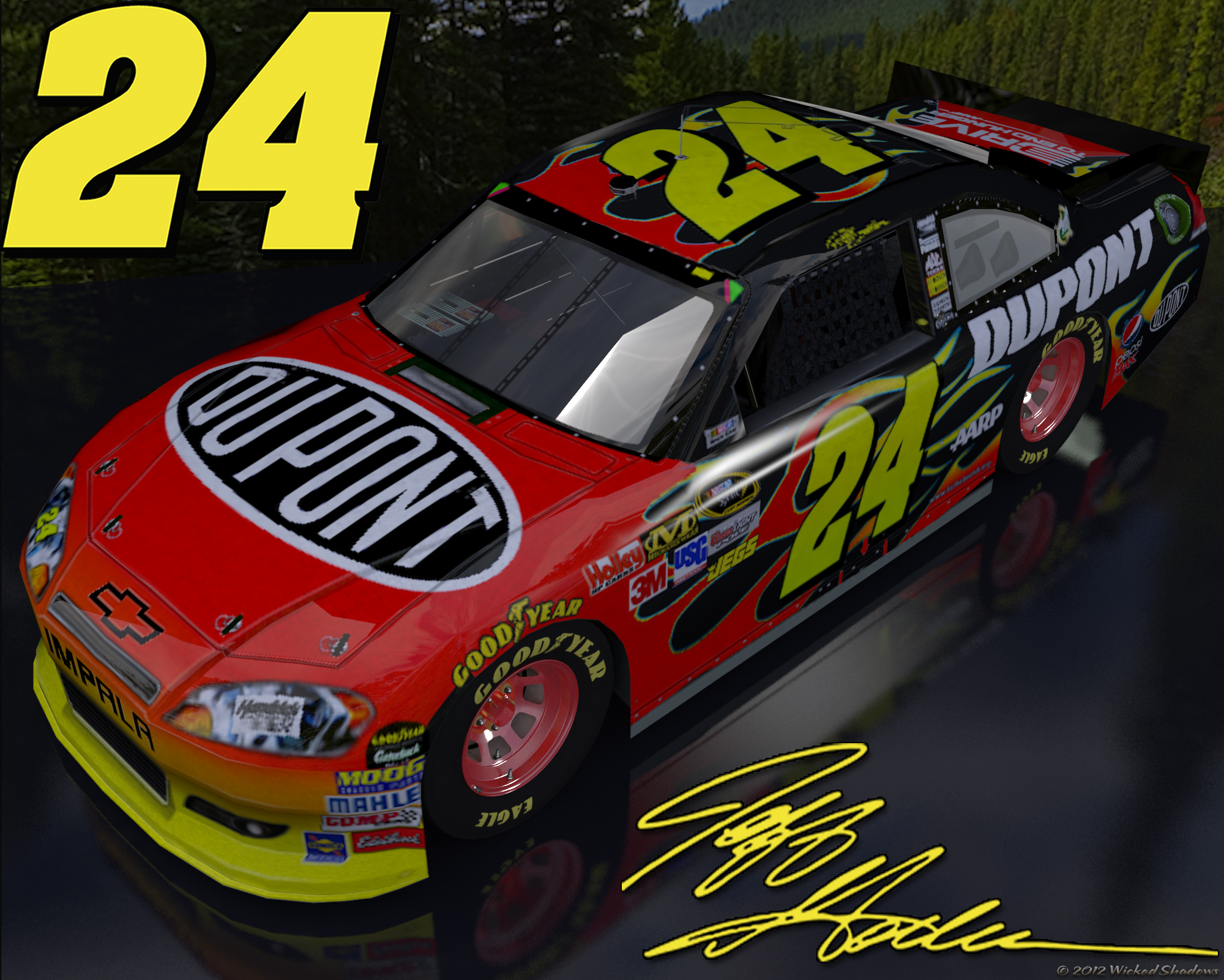 jeff gordon dupont outdoor - photo #2