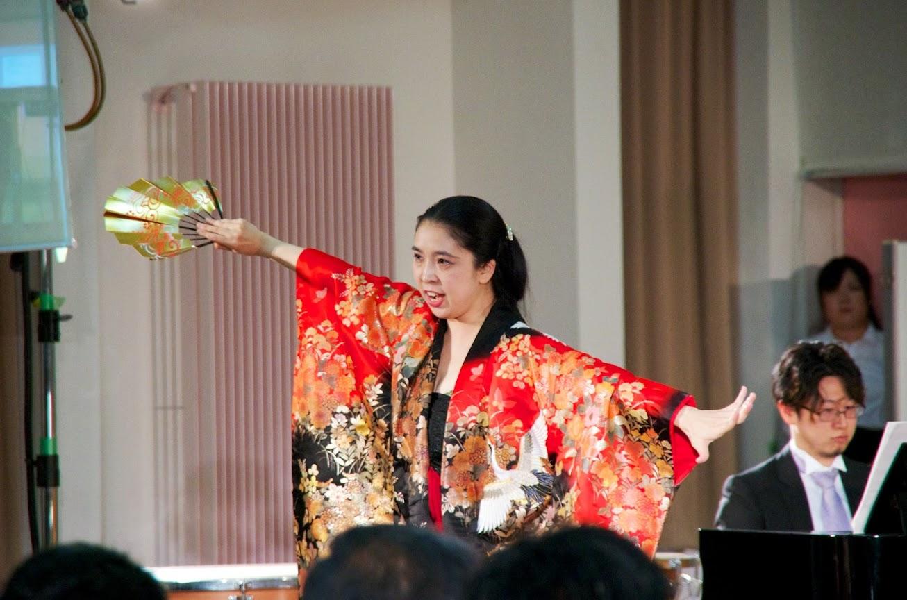 西野郁子さん(メゾソプラノ)