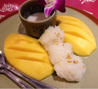 Mangue et riz gluant le blog de cuisine en bouche for Allez cuisine translation