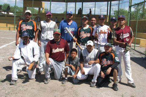 Equipo de beisbol Pericos de El Potrero