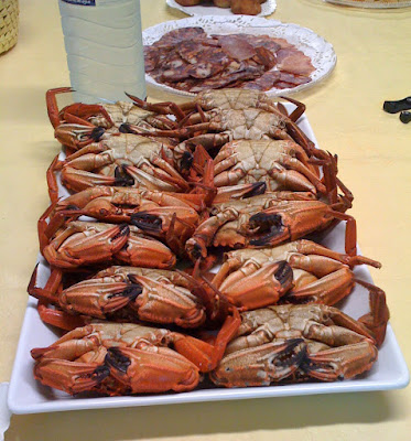 Galicia (Spain): Food and drink for the gourmet traveller. Nécoras.