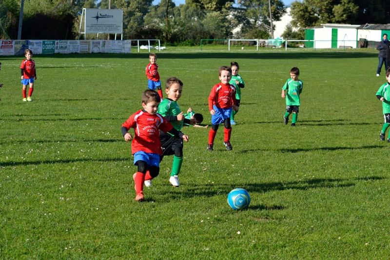 Instante partido biberóns Barallobre - Numancia (temporada 2012 - 2013)