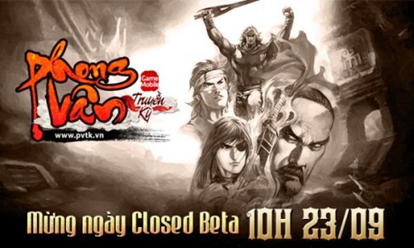 Phong Vân Truyền Kỳ công bố thử nghiệm Closed Beta 1