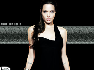 Beautiful Angelina Jolie Rare Modeling Pictures