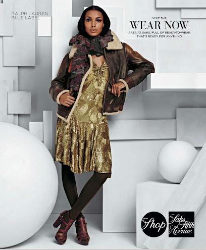 Saks Fifth Avenue, campaña otoño invierno 2012