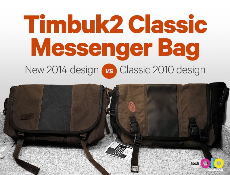 Timbuk2 classic messenger bag small review