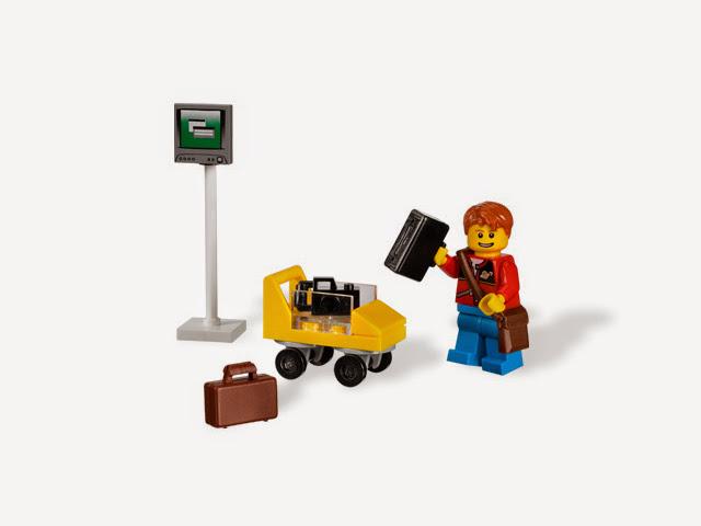7567 レゴ シティ 旅行者