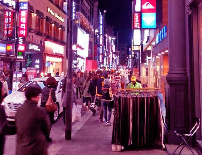 Myeongdong Street Fashion