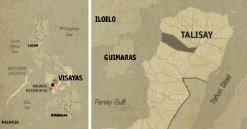 Talisay City Location Map