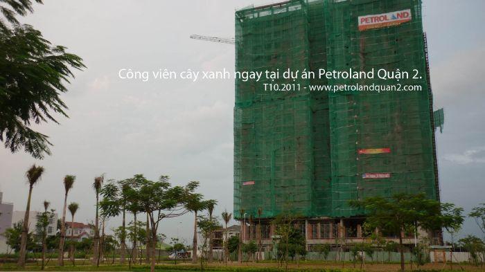 Căn hộ Petroland Quận 2 thanh toán 5 năm