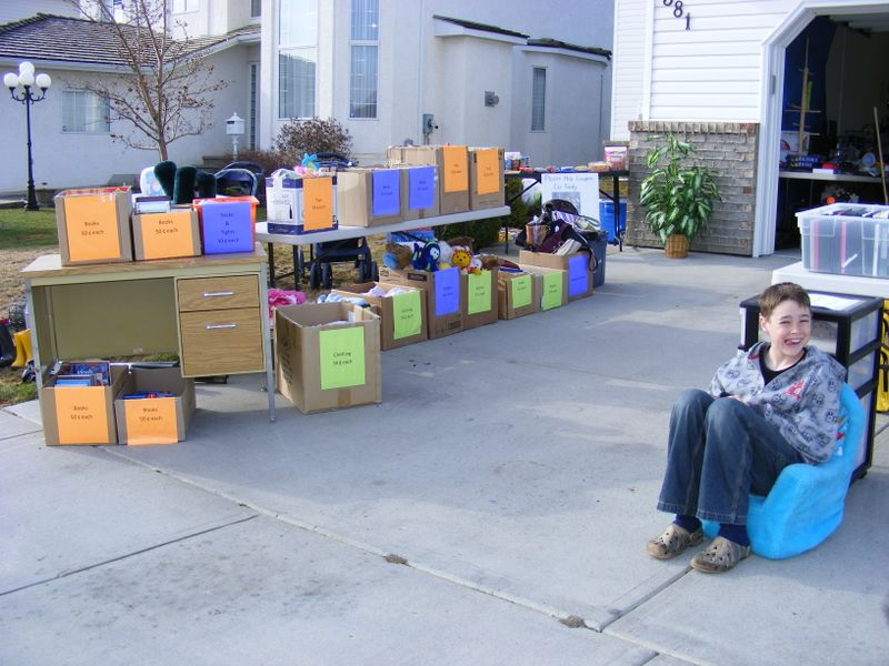 How To Organize A Garage Sale Fundraiser
