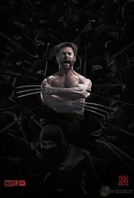 The Wolverine Ninja Poster