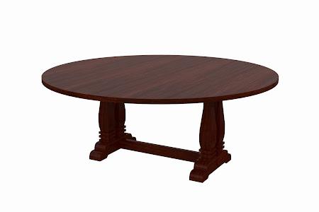 Dane Conference Table in Jefferson Walnut