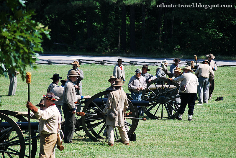 Солдаты Конфедерации гражданской войны в США