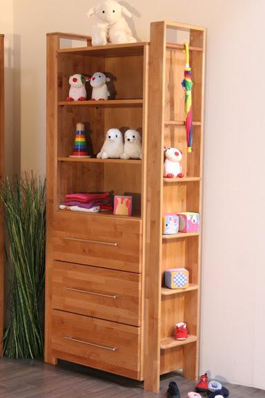 taube kinderzimmer babyzimmer gustav standregal erle massiv ebay. Black Bedroom Furniture Sets. Home Design Ideas