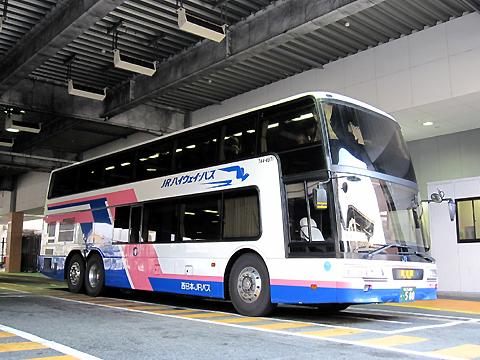 西日本JRバス「東海道昼特急大阪6号」 744-3901 大阪駅桜橋口にて