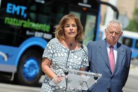 Autobuses 100% limpios para el centro de Madrid
