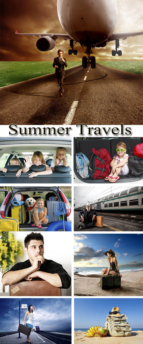 Stock Photo: Summer Travels