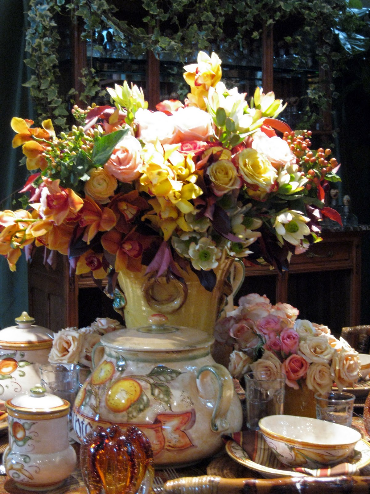 C b i d home decor and design floral design rogers for Beach house designs florist