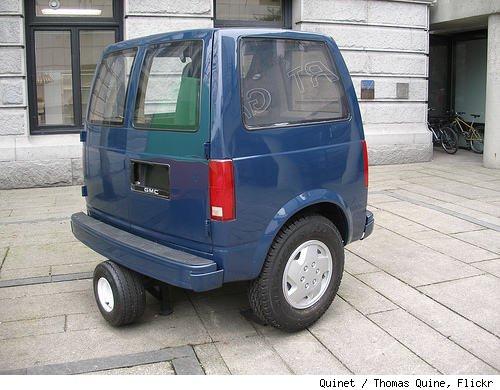 ugly smart car