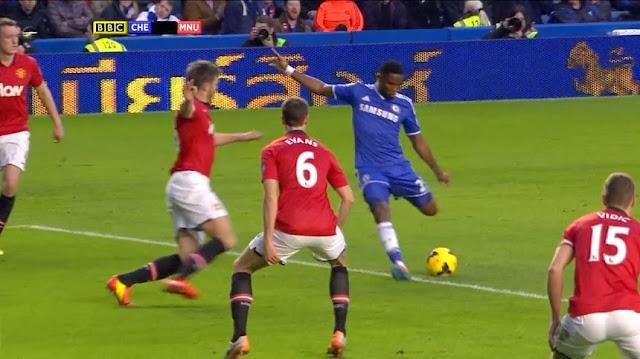 Eto, Chelsea - Manchester United