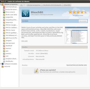 BleachBit o como limpiar tu Ubuntu, Linux Mint, etc, a lo fácil. Instalación.